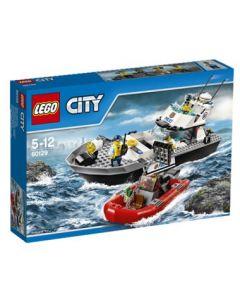 LEGO City 60129 Politiets patruljebåt