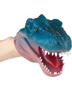 DinoWorld hånddukke - blå