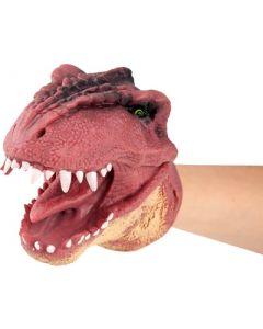 DinoWorld hånddukke - rød