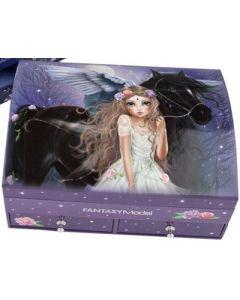 TOPModel smykkeskrin fantasy model - jente med hest