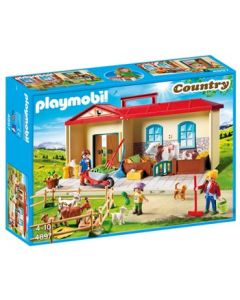 Playmobil Bondegård med tilbehør - take along - 4897