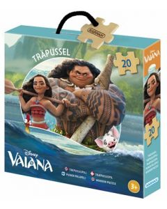 Disney Vaiana trepuslespill - 20 brikker