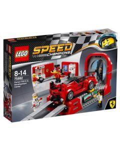 LEGO Speed Champions 75882 Ferrari FXX-K forsknings- og utviklingssenter