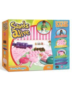 Sands Alive - Candy Shop - 675 gram med leire og tilbehør