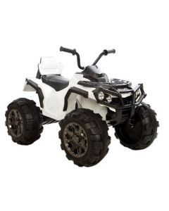 Azeno Dirty Raptor XL ATV 12V - hvit