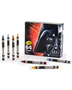 Crayola Star Wars Darth Vader fargestifter - 64 stk