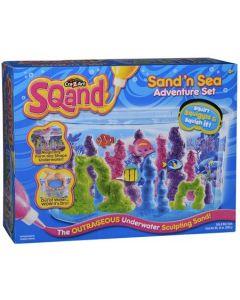 Sqand Sand'n Sea Adventure-sett - kinetisk sand