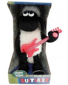 Sauen Shaun med gitar