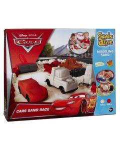 Disney Cars Sands Alive sett med rød og hvit sand