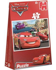 Disney Cars  Jumbo puslespill - 70 brikker i gavepose