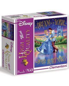 Clementoni Disney Princess puslespill - 260 brikker