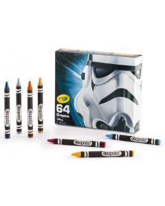 Crayola Star Wars Stormtrooper fargestifter - 64 stk