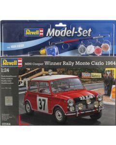 Revell Model Set Mini Cooper Aqua 1:24