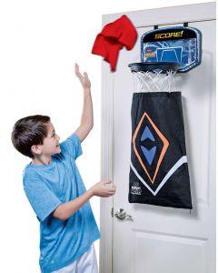 Hamper Hoops basketballkurv - rydd rommet med stil!