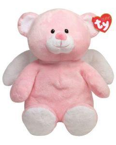 TY Beanie Little Angel rosa plysjbamse - 33 cm