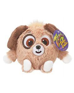 Zigamazoo brun hund i plysj med latter