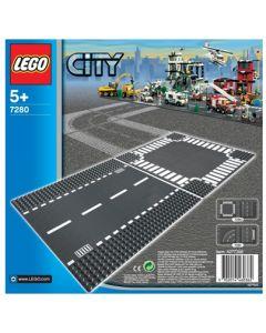 LEGO City 7280 Rett vei og Kryss