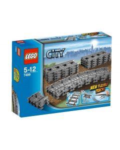 LEGO City 7499 Fleksible Skinneoverganger
