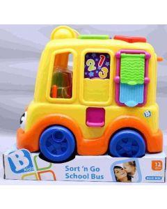 Bkids skolebuss med plukkelek