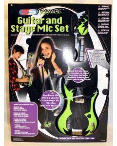 SS Music Gitar og Mikrofon