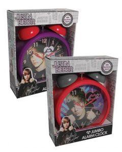 Justin Bieber jumbo-klokke - Lilla