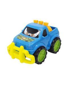 Dickie Toys plastbiler blå pickup - 27 cm
