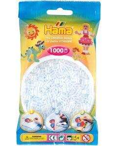 Hama Midi 1000 perler gjennomsiktig