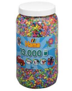 Hama Midi perler i boks mix 50 - 13 000 stk