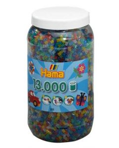 Hama Midi perler i boks mix 54 - 13 000 stk