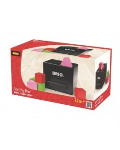 BRIO Putteboks sort 30144