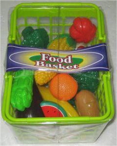 Fruktkurv 22 deler - grønn