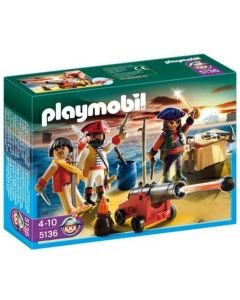 Playmobil Pirat-kommandør med rustning