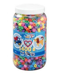 Hama Maxi perler i boks mix 50 - 1400 perler