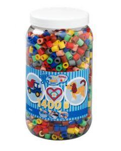 Hama Maxi perler i boks mix 69 - 1400 perler