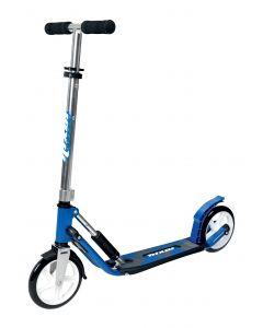 Sparkesykkel blå - store hjul