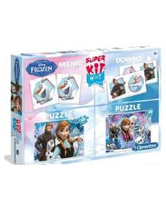 Disney Frozen super kit spill - 4 in 1