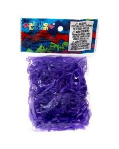 Rainbow Loom bands - lilla