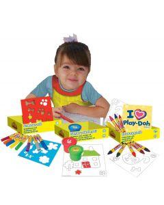 Play-Doh hobbysett i 54 deler