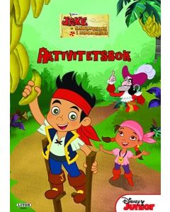 Disney Jake and the Neverland Pirates aktivitetsbok