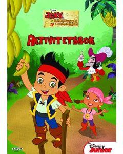 Disney Jake and the Neverland Pirates aktivitetsbok