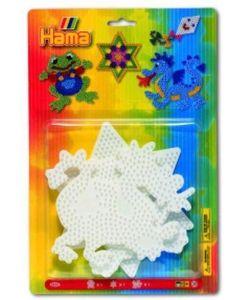 Hama Midi perlebrett - 3 stk