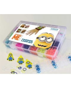 Despicable me loom bands kit