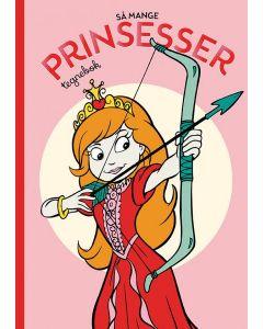 Tactic Malebok /Tegnebok med Prinsesser