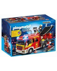 Playmobil City Action brannbil med lys og lyd 5363