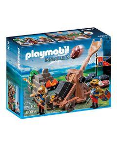 Playmobil royal lion riddernes katapult 6039