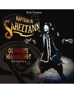 Kaptein Sabeltann og Havets Hemmelighet CD