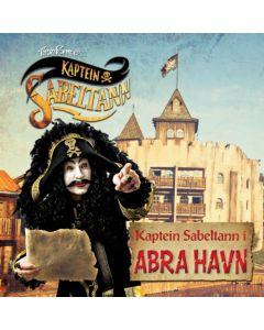 Kaptein Sabeltann CD - i Abrahavn