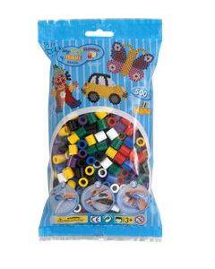 Hama Maxi Perlemiks 500 perler - flerfarget