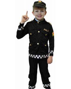 Norsk politiuniform 3 - 4/5 år