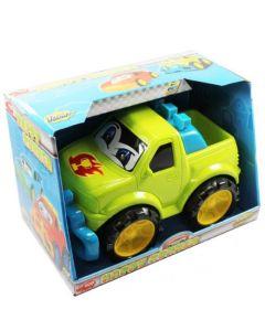 Dickie Toys plastbiler grønn pickup - 27 cm